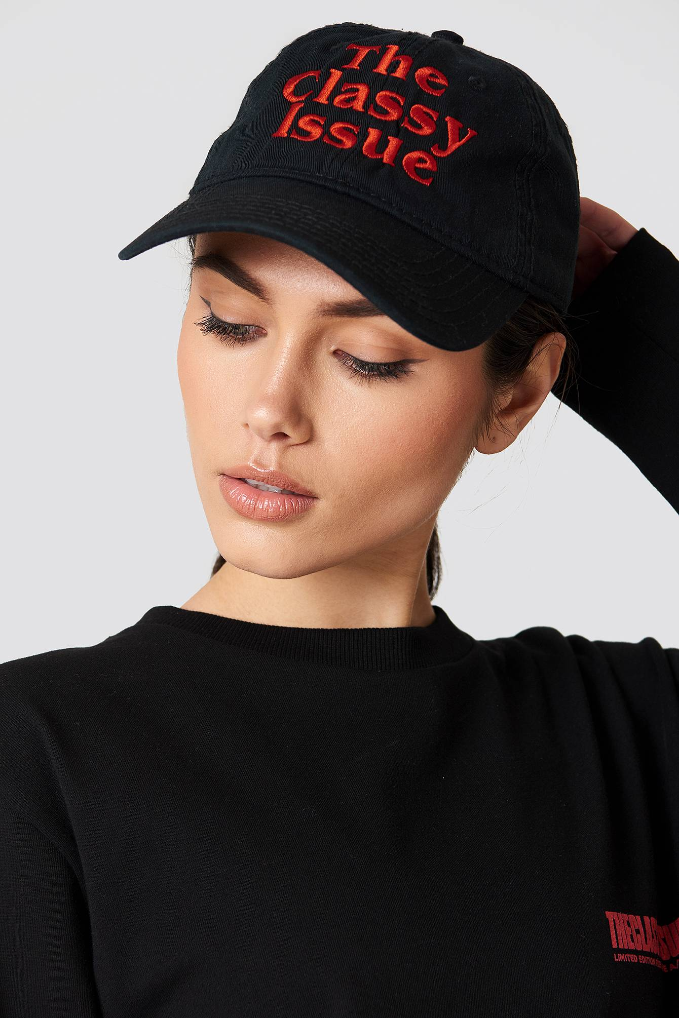 The Classy Issue Classic Logo Dad Hat - Black