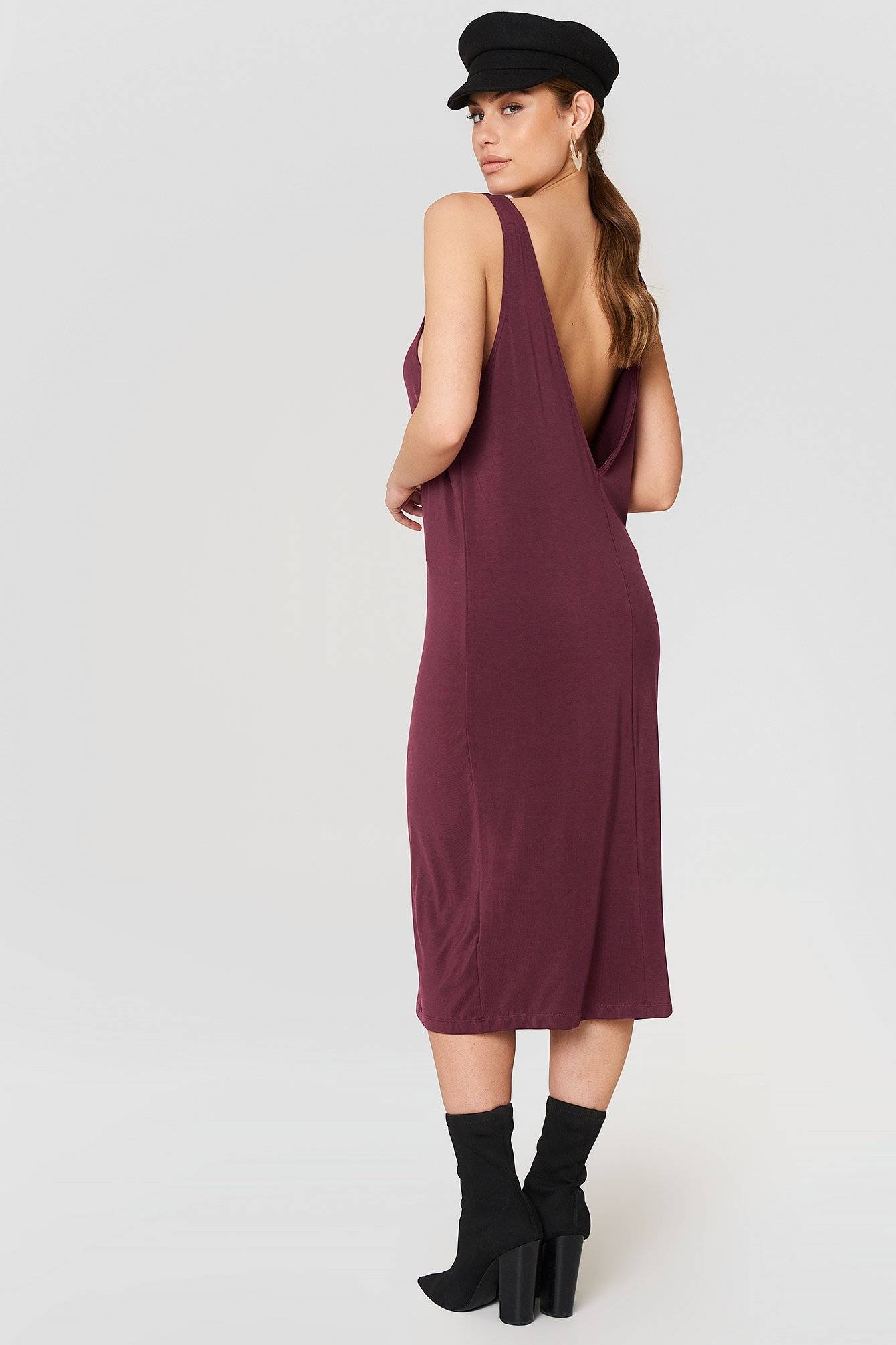 Dr Denim Natalia Dress - Red,Purple