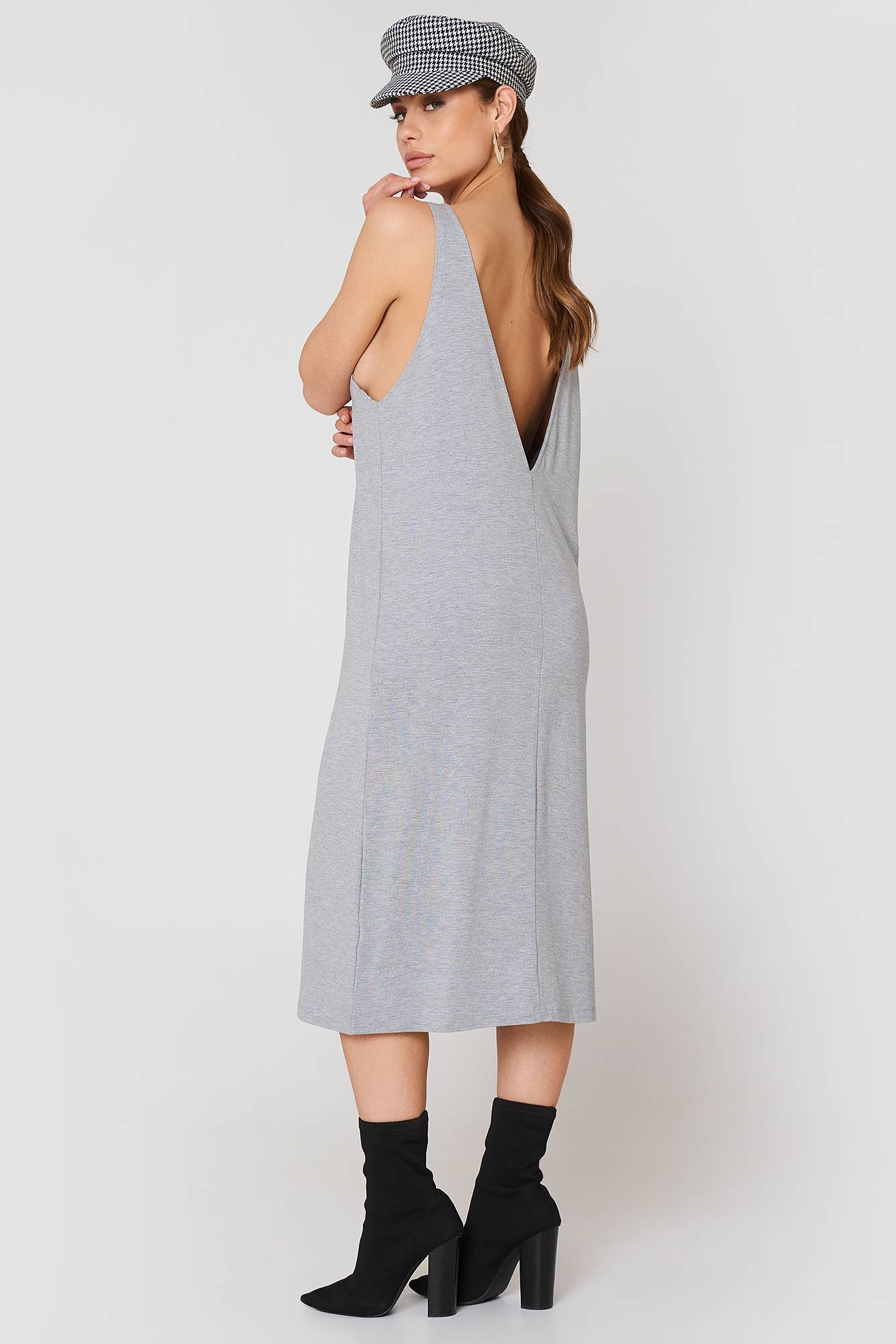 Dr Denim Natalia Dress - Grey