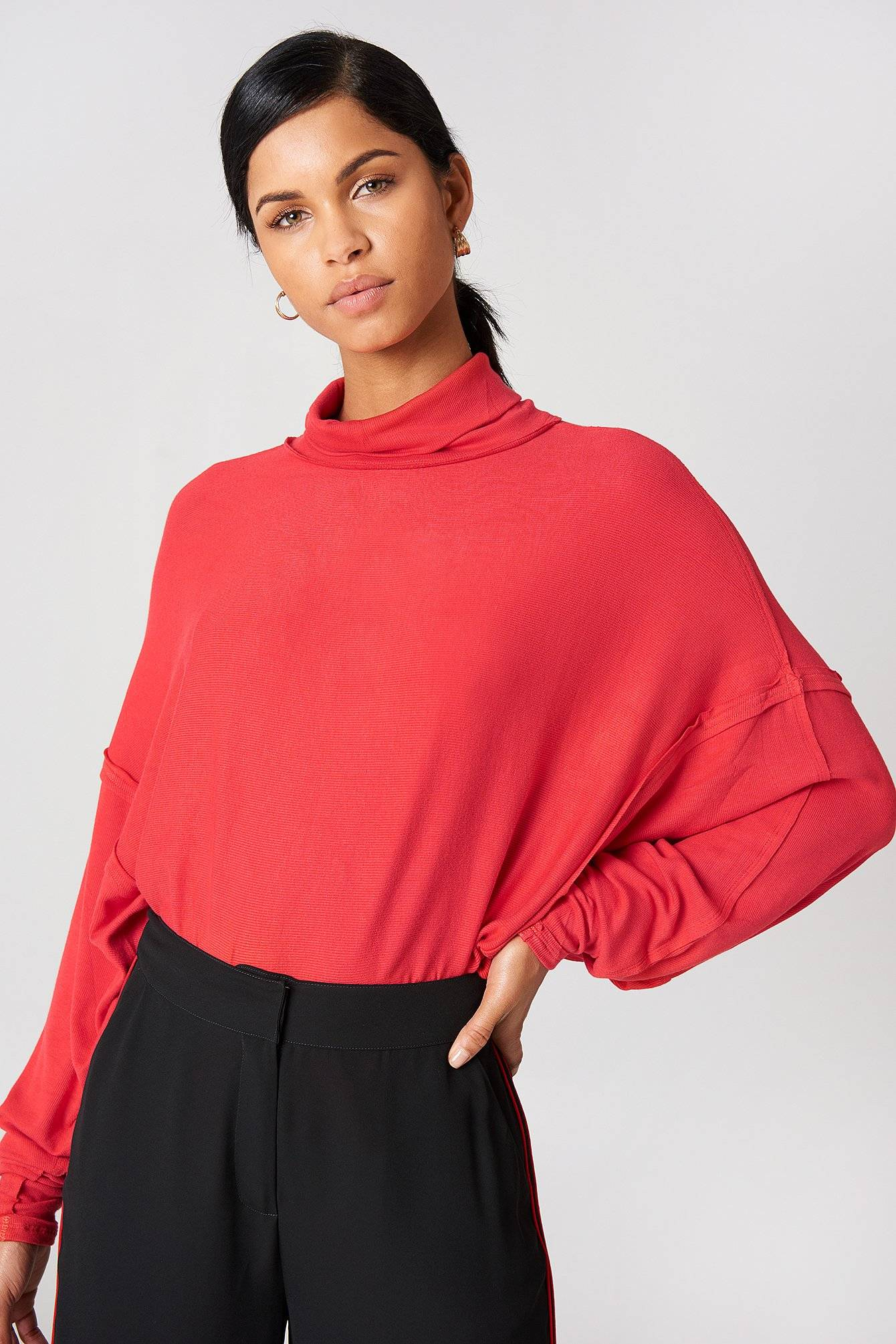Free People Alameda Pullover - Red