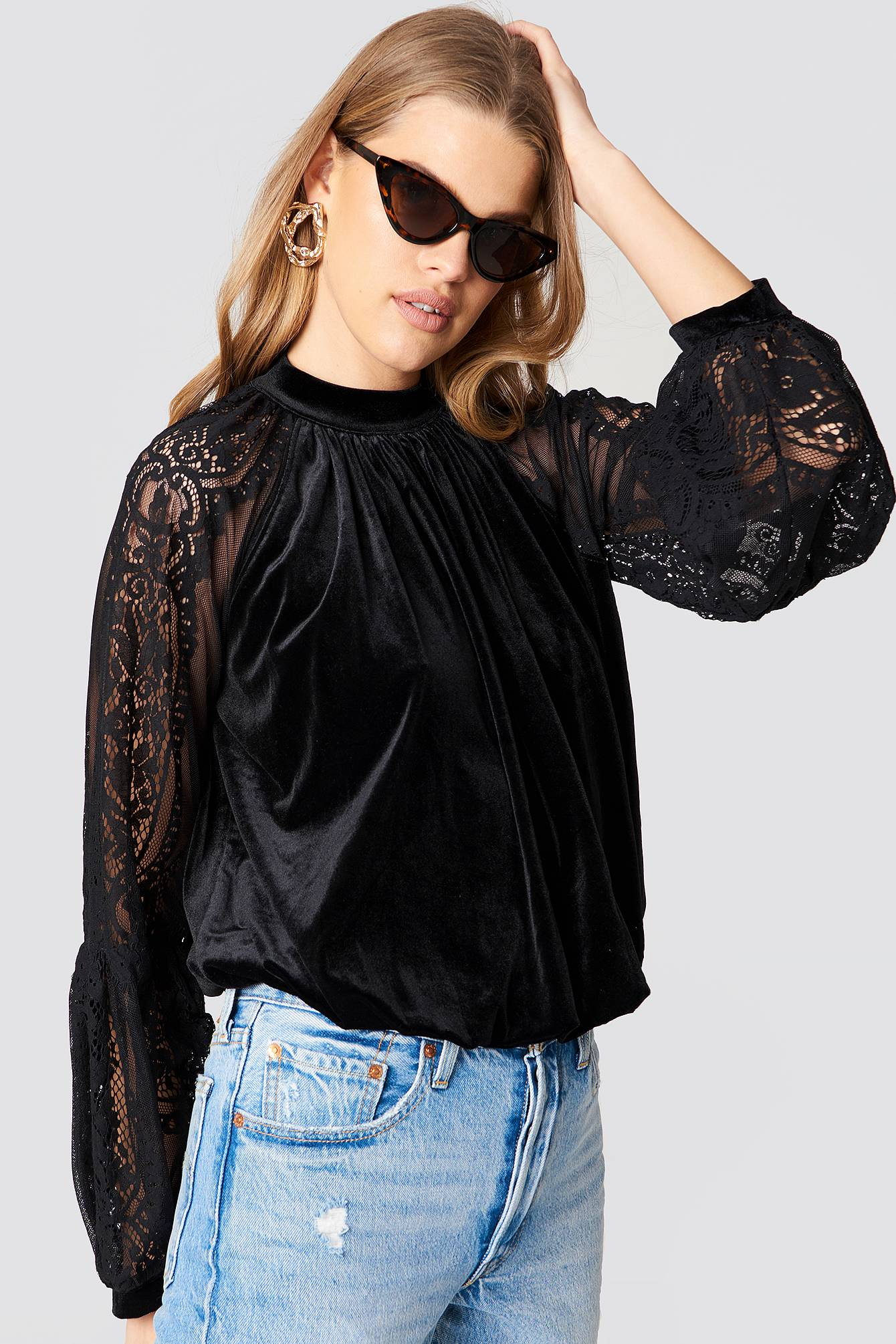 Free People Dream Team Top - Black