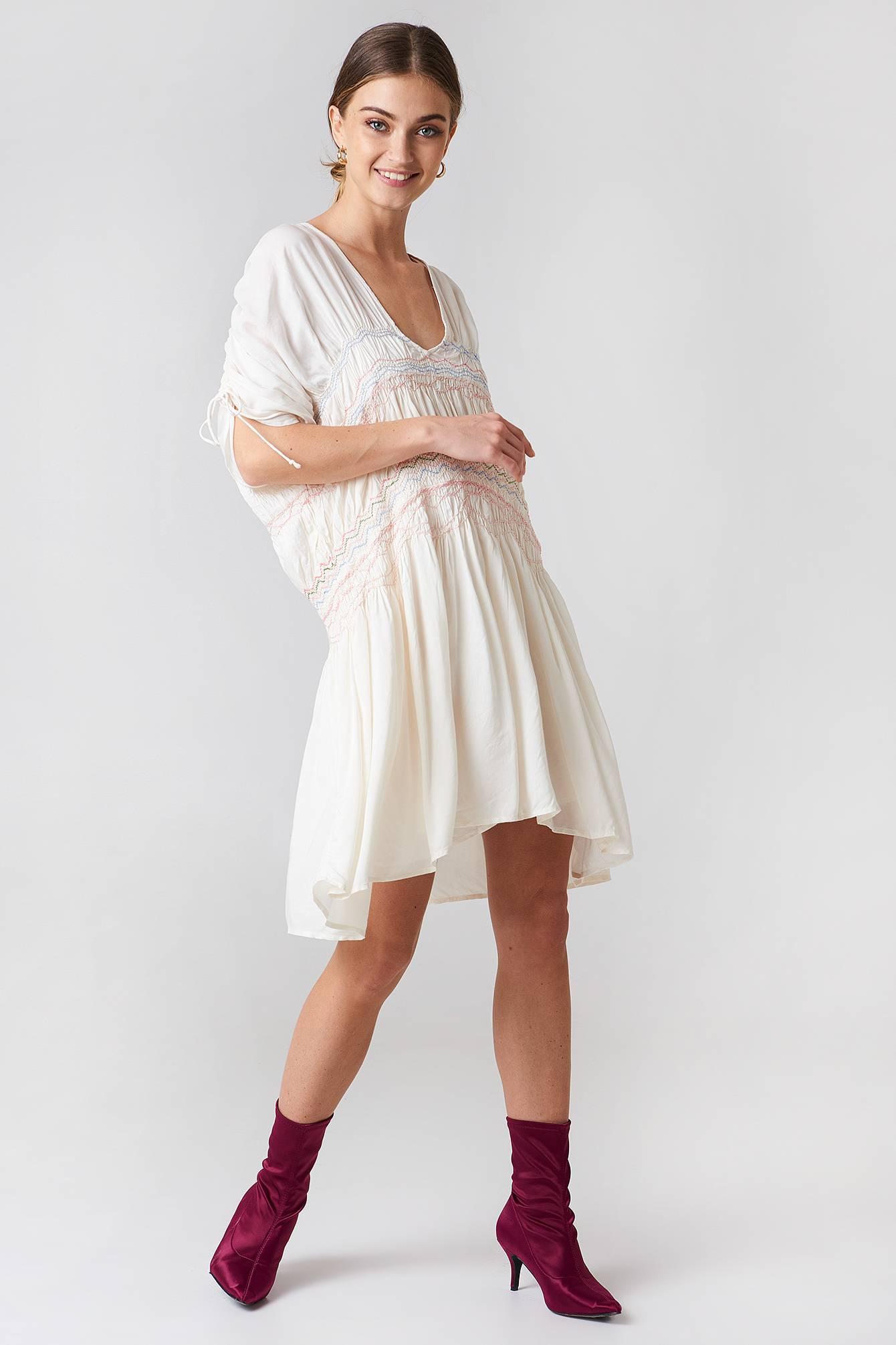 Free People Love Of The Run Midi Dress - White