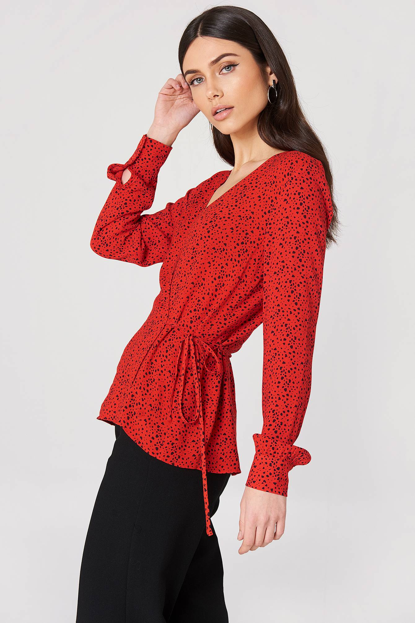Just Female Ellen Blouse - Red