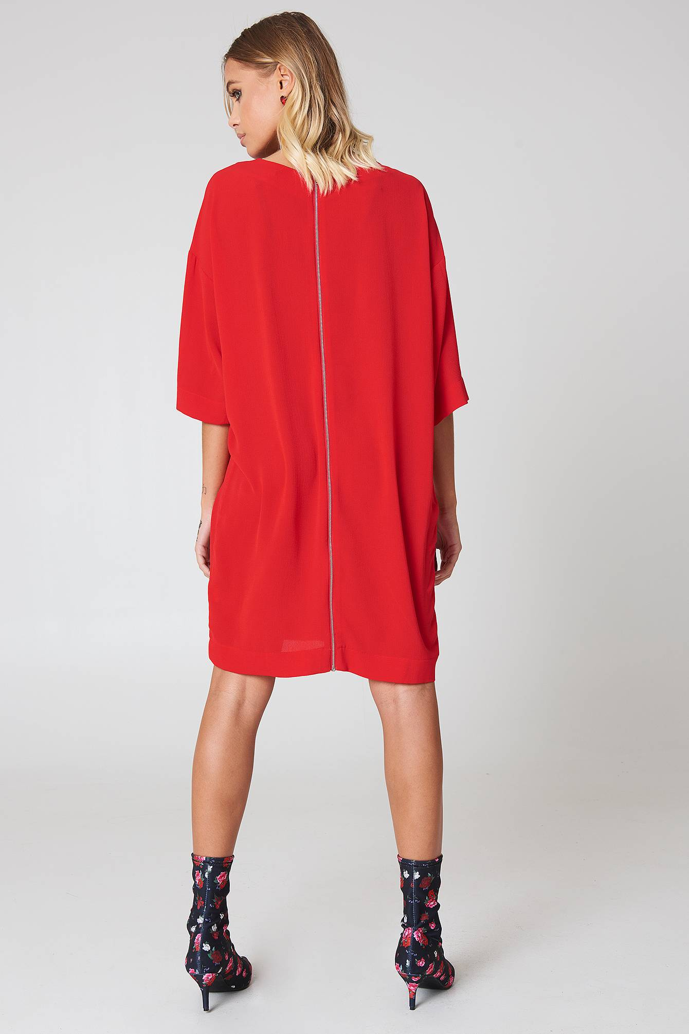 Rut&Circle Isabelle Dress - Red