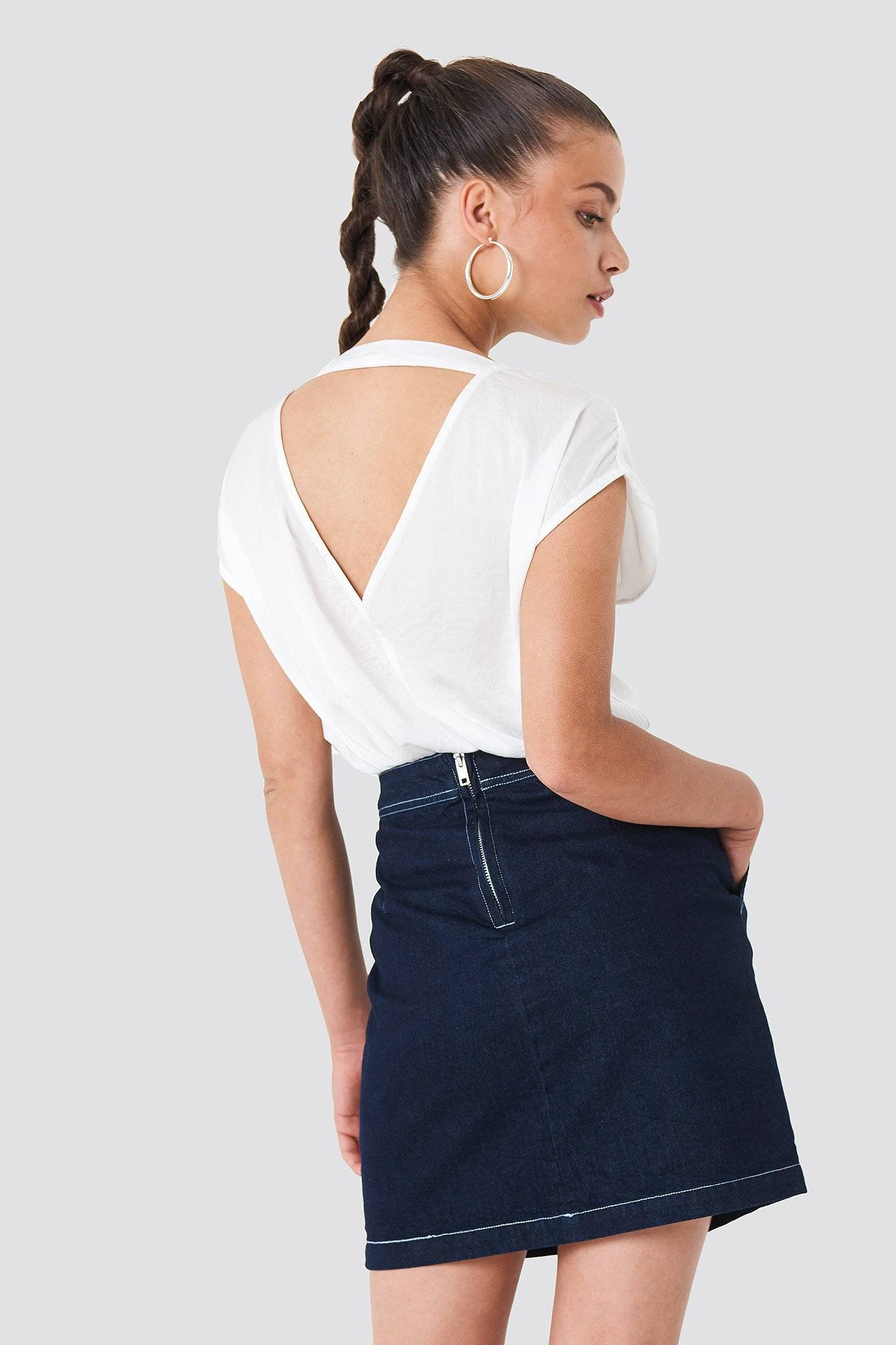 Rut&Circle Lucy Top - White