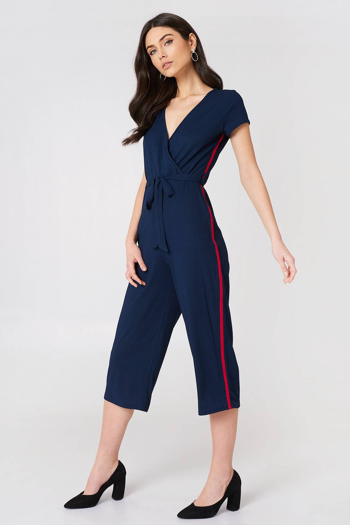 Sisters Point Cerry Jumpsuit - Navy