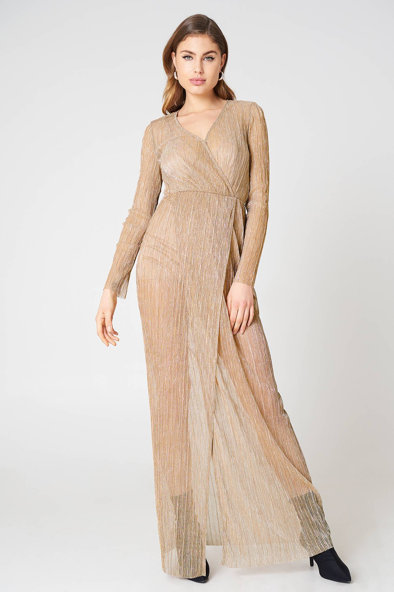 The Jetset Diaries Avalon Maxi Dress - Pink,Nude