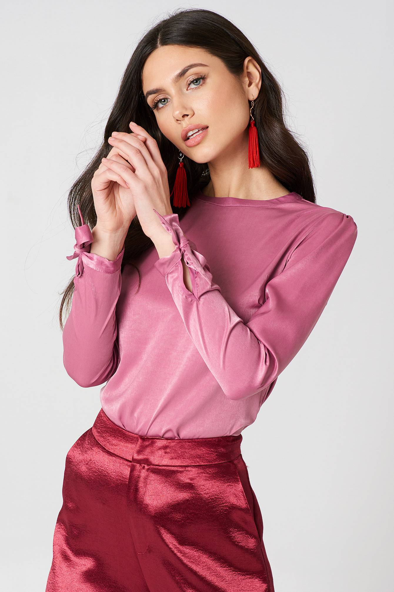 Therese Lindgren Fiona Blouse - Pink