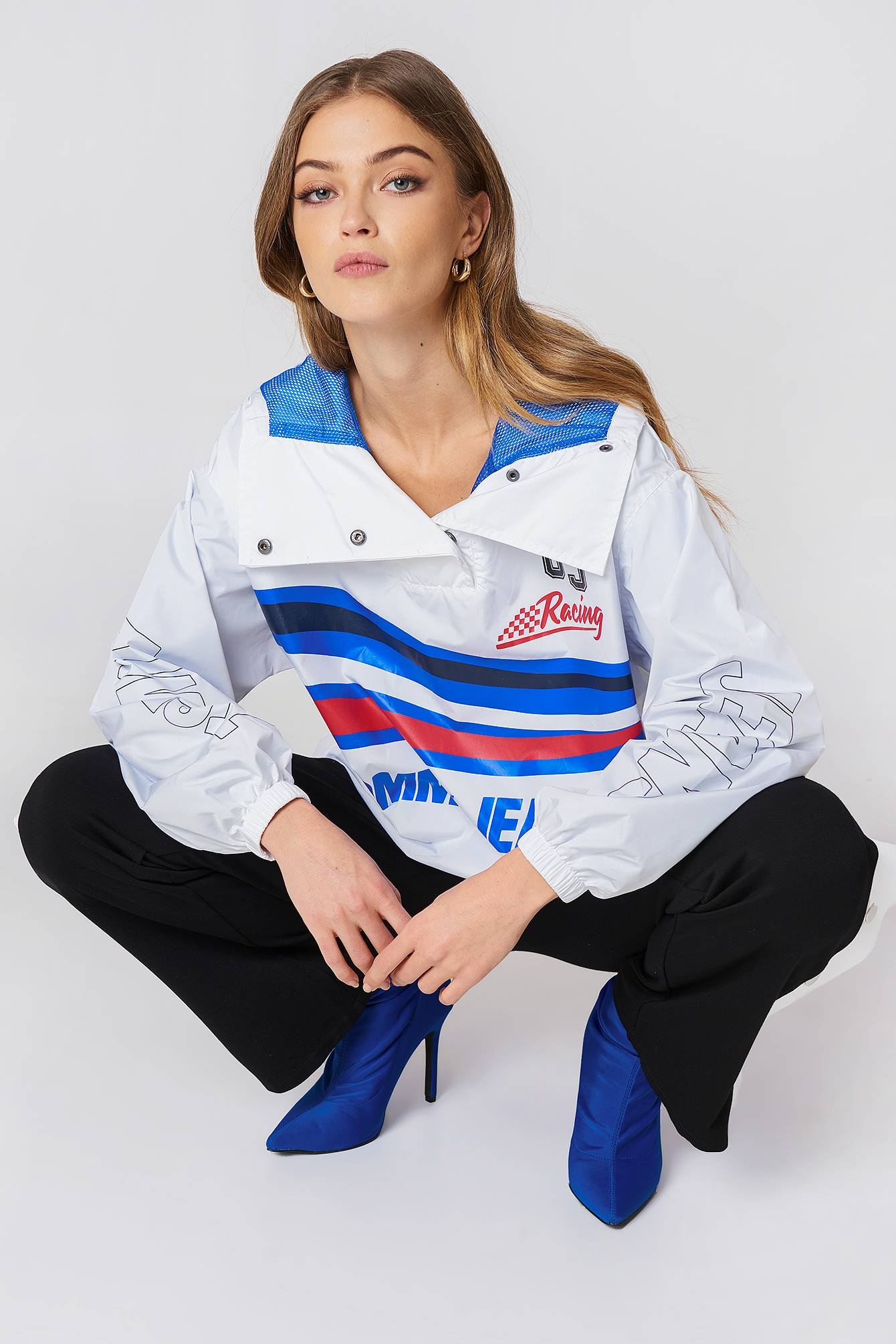 Tommy Hilfiger Racing Popover Jacket - White