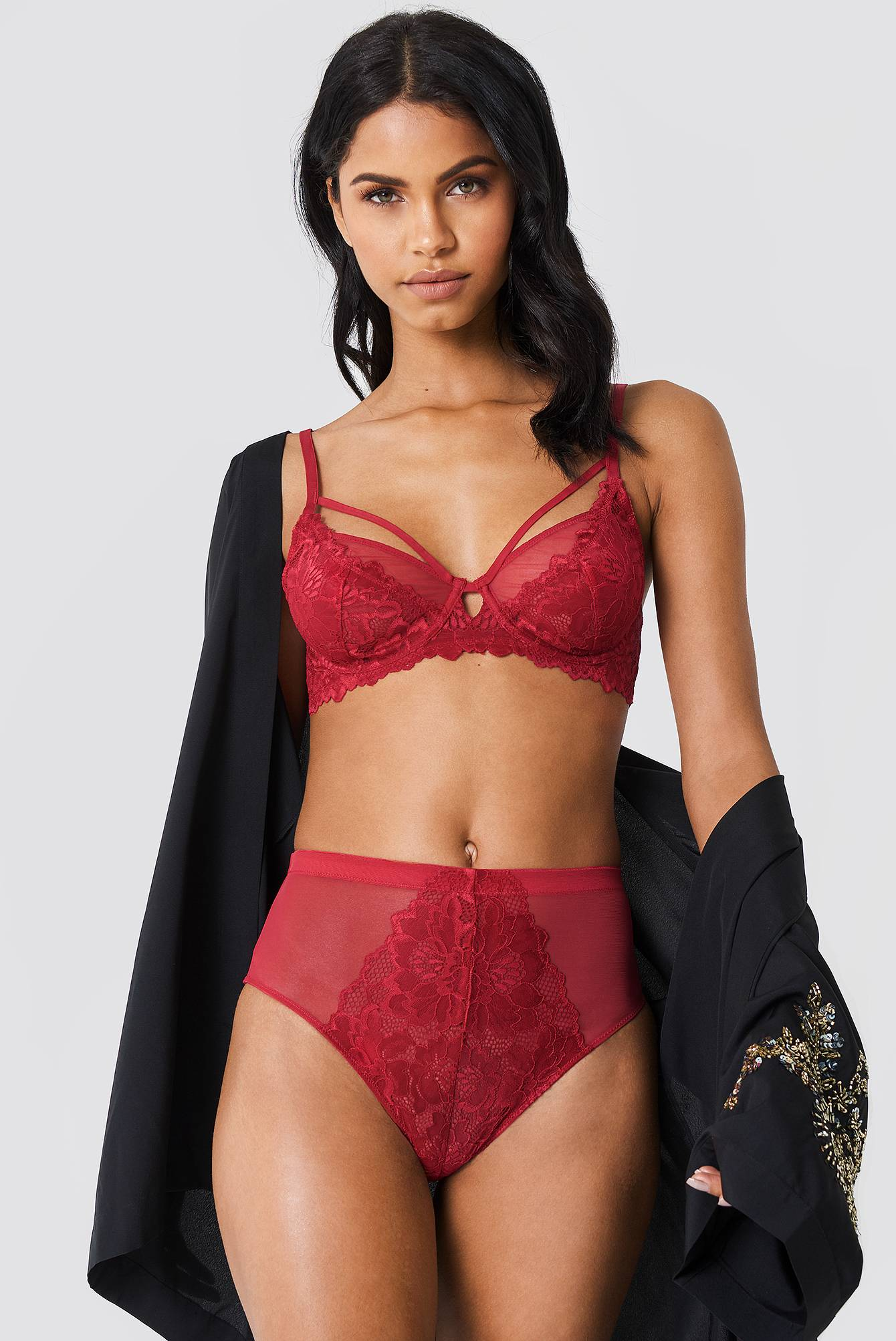 Free People Golden Coast Undie - Red