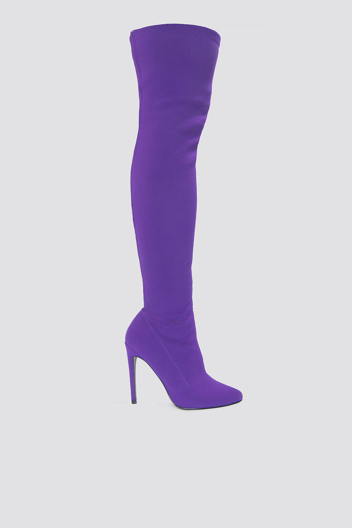 Steve Madden Slammin Boot - Purple