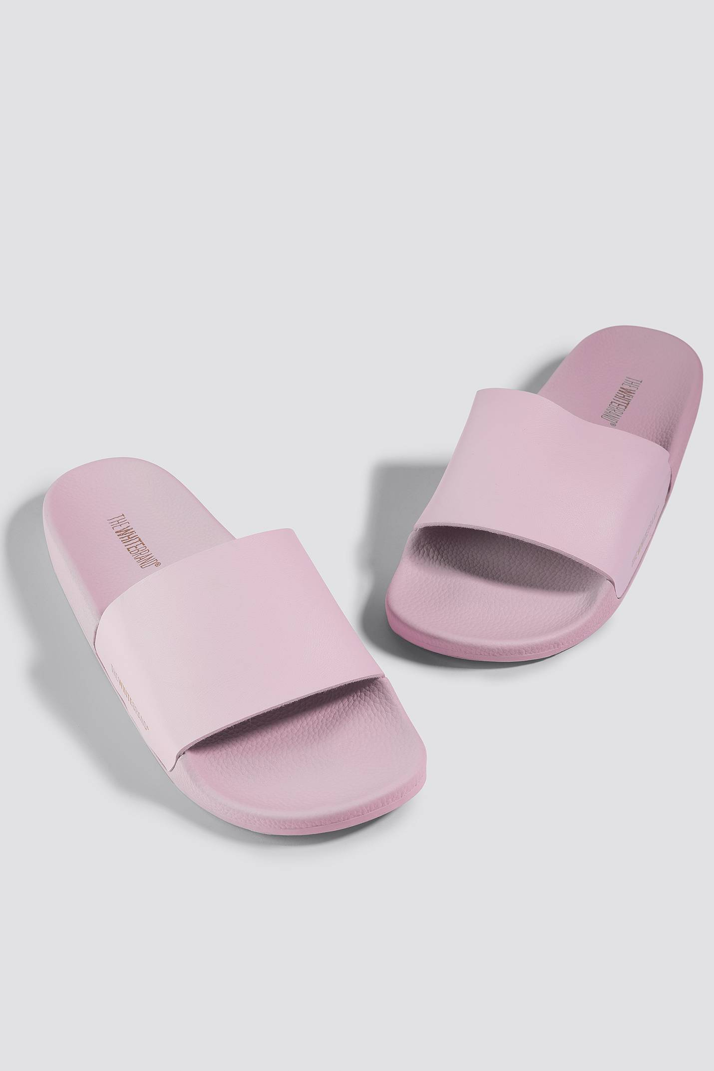 The White Brand Minimal Slippers - Pink