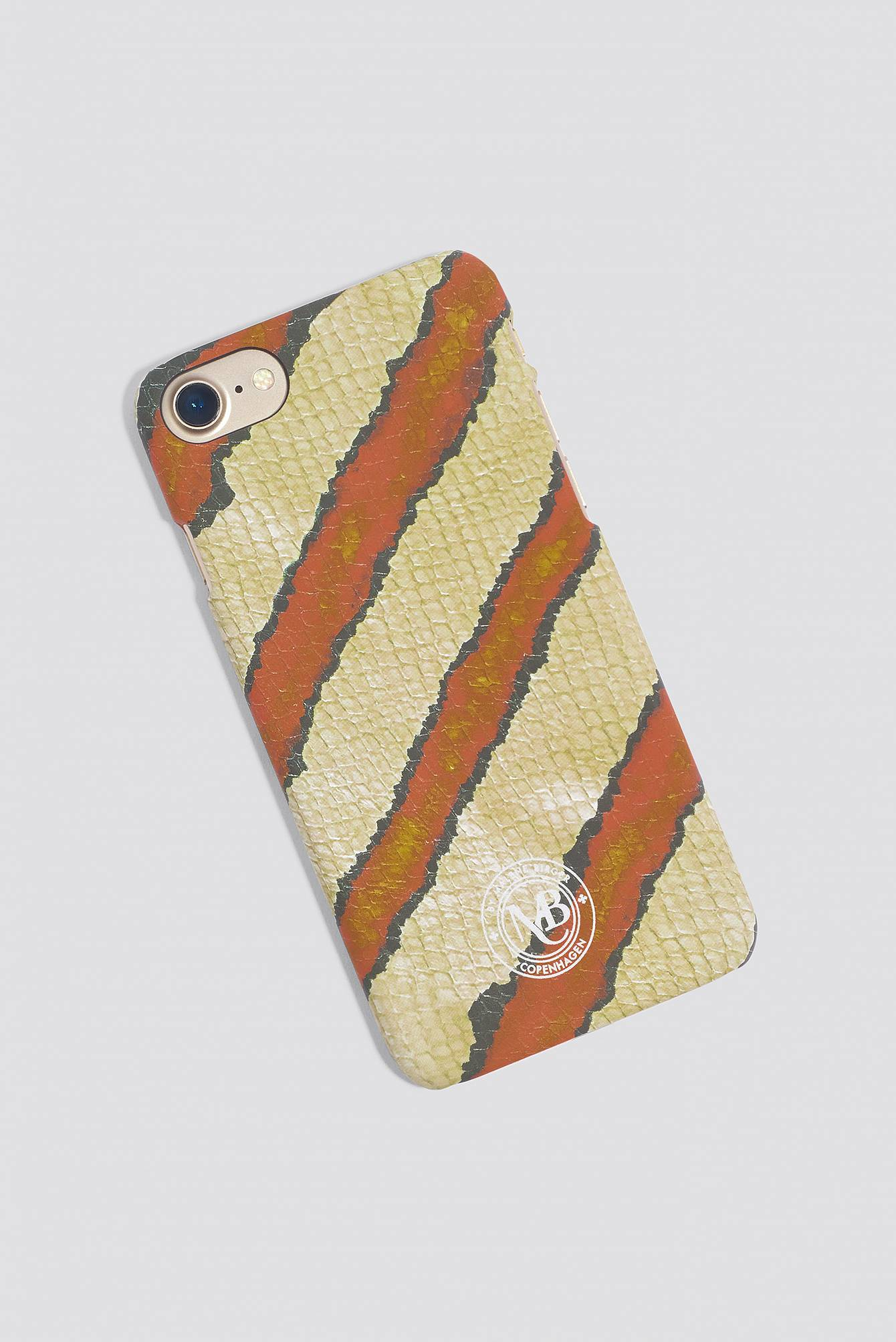 By Malene Birger Pamsy Printed iPhone 7/8 Case - Green