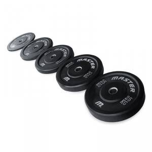 Master Fitness Bumperplates, Master