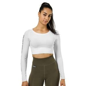 Better Bodies Bowery Cropped Ls, white, xsmall