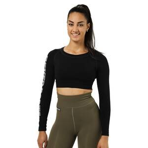 Better Bodies Bowery Cropped Ls, black, xsmall