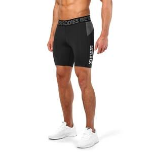 Better Bodies Compression Shorts, black, small