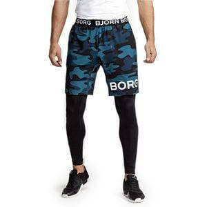Björn Borg August Shorts, BB maxi camo blue, medium