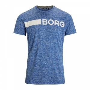 Björn Borg Alfie Tee, surf the web melange, large
