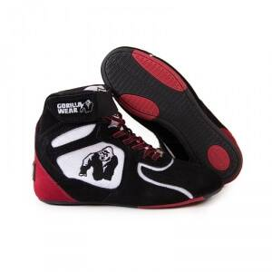 Gorilla Wear Chicago High Tops LTD, black/white/red, 40