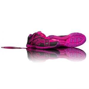 Image of Salming Race Women, black/knockout pink, Salming Sports