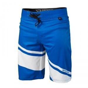 Better Bodies Pro Board Shorts, bright blue, large