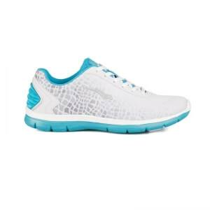 Bagheera Arena, white/light blue, 40