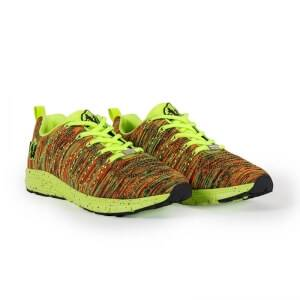 Gorilla Wear Brooklyn Knitted Sneakers, neon mix, Gorilla Wear