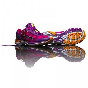 Salming Distance Women, purple cactus power, Salming Sports