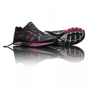 Image of Salming Distance A2 Women, gun metal/knockout pink, Salming Sports