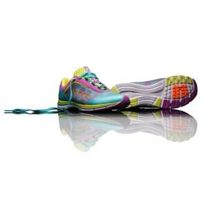 Salming Speed 3 Women, turquoise/cactus flower, Salming Sports