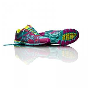 Salming Race 3 Women, turquoise/cactus flower, Salming Sports