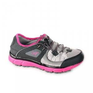 2117 of Sweden Kalmar Running Shoe, black/cerise, 37