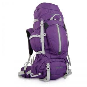 True North Trek 50 Hiking Backpack Lady, lilac, True North