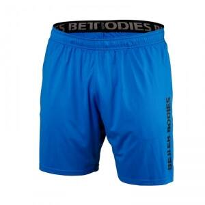 Better Bodies Loose Function Shorts, bright blue, small