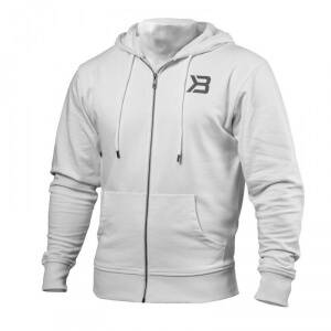 Better Bodies Jersey Hoodie, white, small