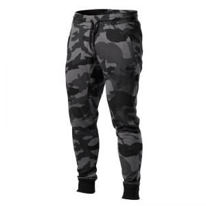 Better Bodies Tapered Joggers, dark camo, medium