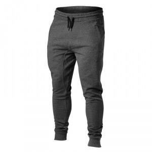Better Bodies Tapered Joggers, graphite melange, large