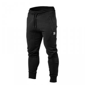 Better Bodies Tapered Joggers, black, Better Bodies