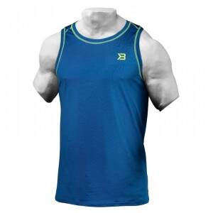 Better Bodies Performance Tank, bright blue, large
