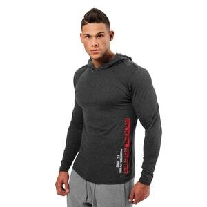 Better Bodies Mens Soft Hoodie, anthracite, xlarge