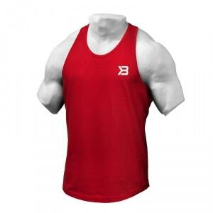 Better Bodies Essential T-back, bright red, xlarge