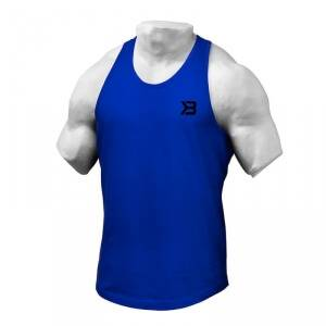 Better Bodies Essential T-back, strong blue, medium