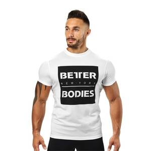 Better Bodies Casual Tee, white, xxlarge