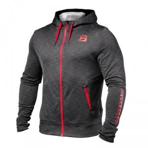 Better Bodies Performance PWR Hood, antracite melange, small