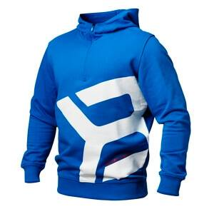 Better Bodies Brooklyn Zip Hood, strong blue, xlarge