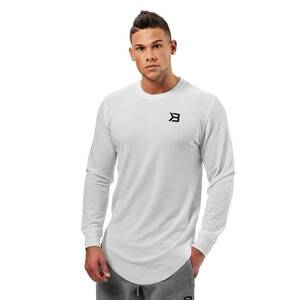 Better Bodies Harlem Thermal L/S, white, xxlarge