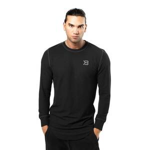 Better Bodies Harlem Thermal L/S, black, medium