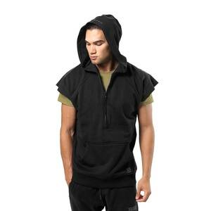 Better Bodies Harlem S/L Hood, black, medium