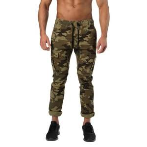 Better Bodies Harlem Cargo Pants, military camo, large